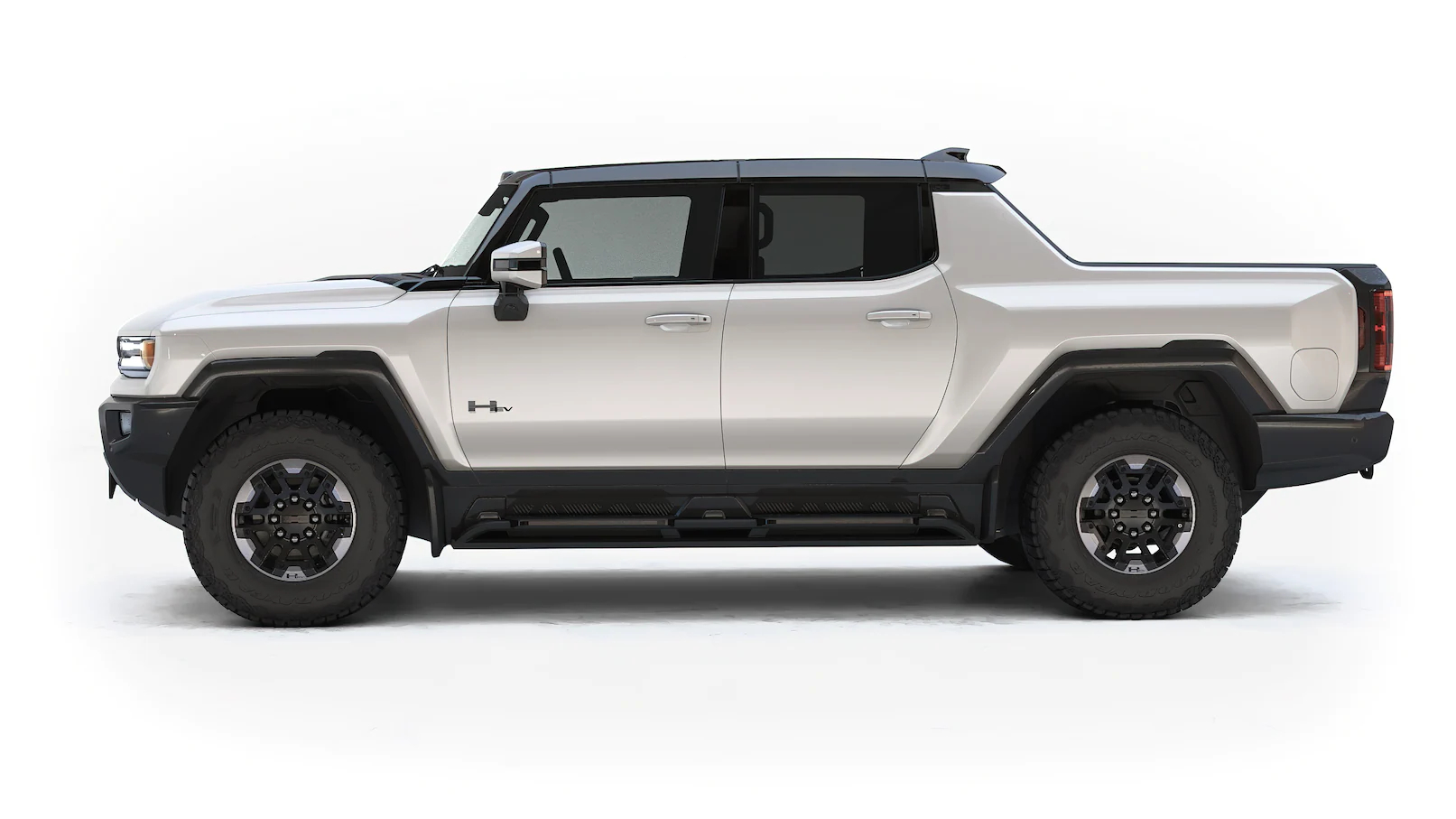 HUMMER EV PICKUP LEFT PROFILE
